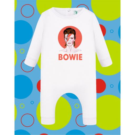 Pelele de bebé Bowie [3]