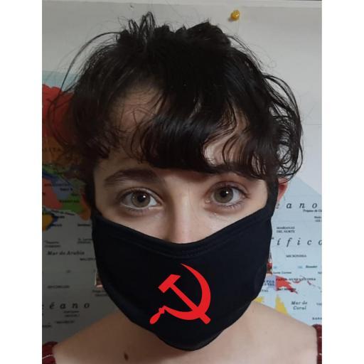 Mascarilla Protección Comunista