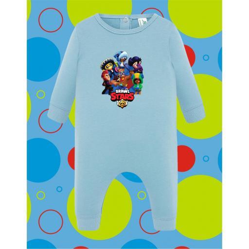 Pelele de bebé Brawl Star [1]