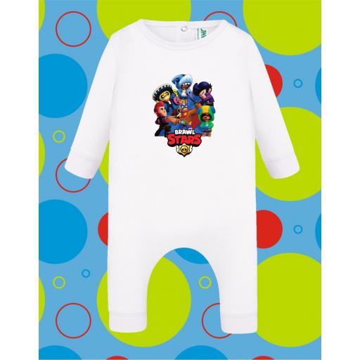Pelele de bebé Brawl Star [2]