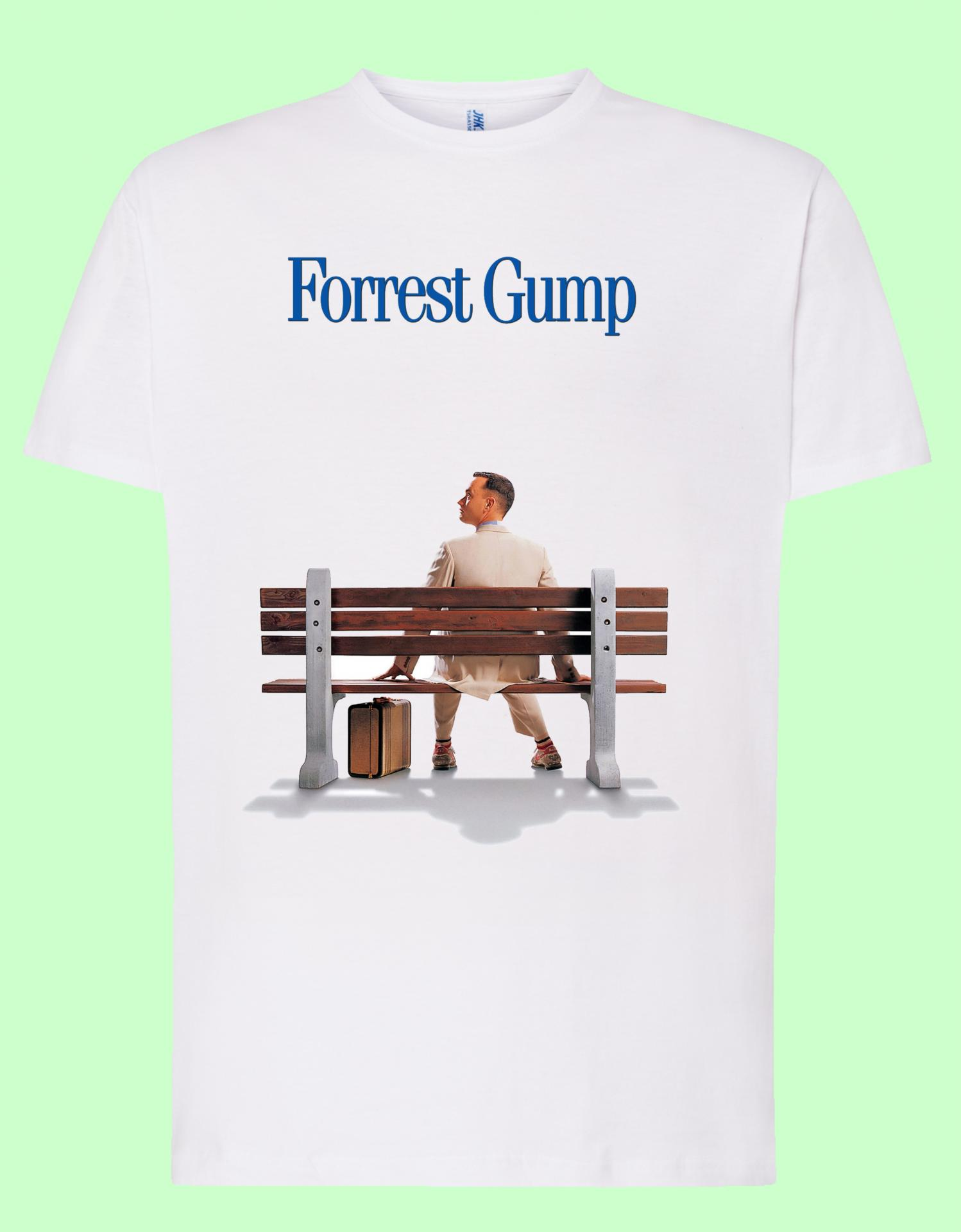 Camiseta blanca Forrest Gump