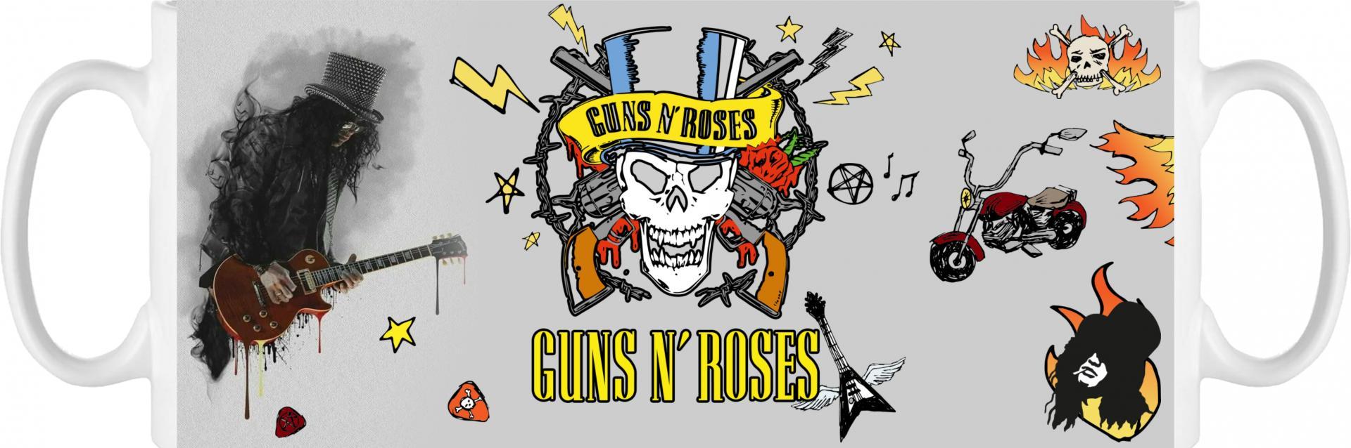 Taza Guns N Roses (011)