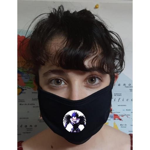 Mascarilla Protección Death Note Riuk