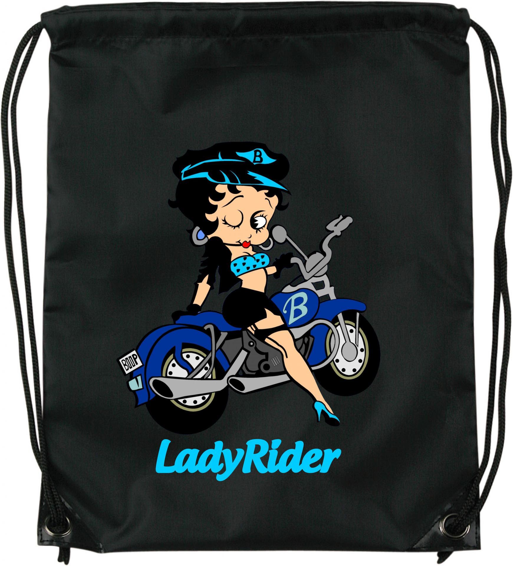 Mochila de cuerdas Betty Boop Lady Rider