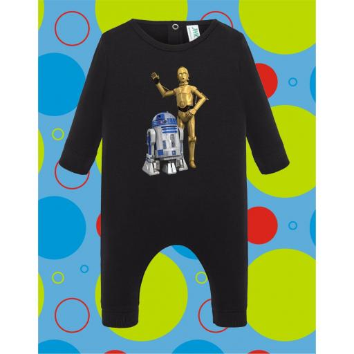 Pelele de bebé R2D2-C3PO [3]