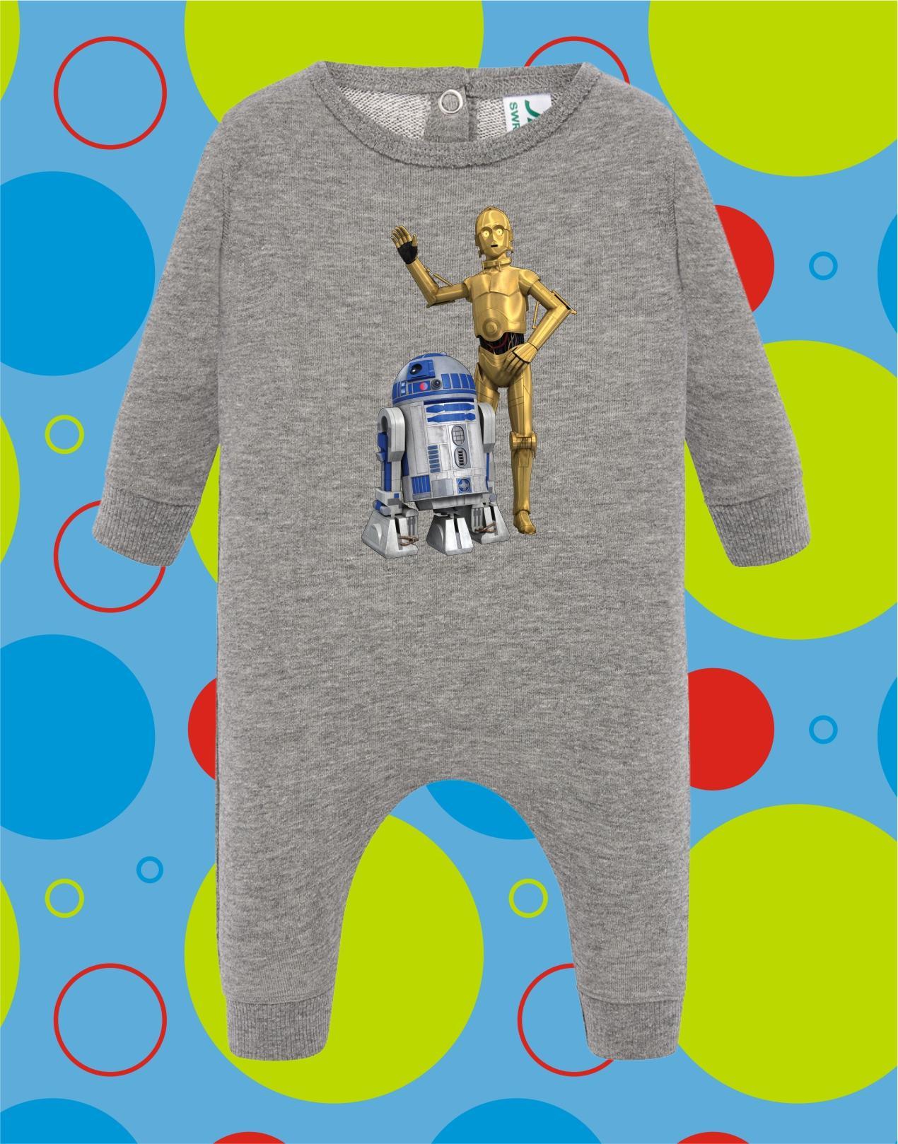 Pelele de bebé R2D2-C3PO