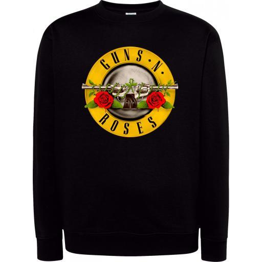 Sudadera Cuello Redondo Guns N Roses