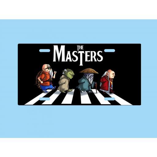 Placa de Metal The Masters