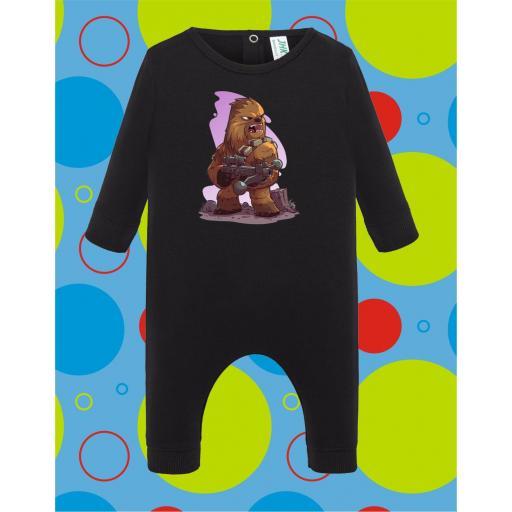 Pelele de bebé Chewbacca [3]