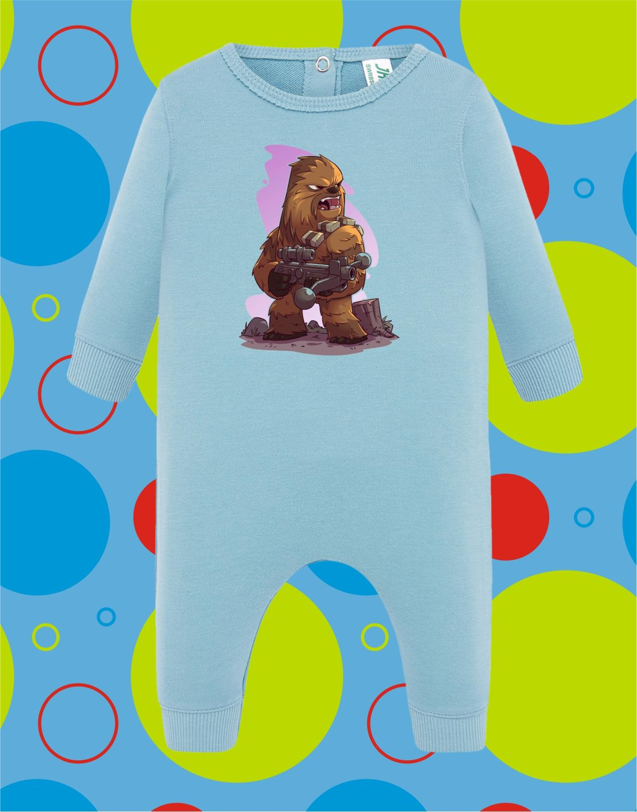 Pelele de bebé Chewbacca