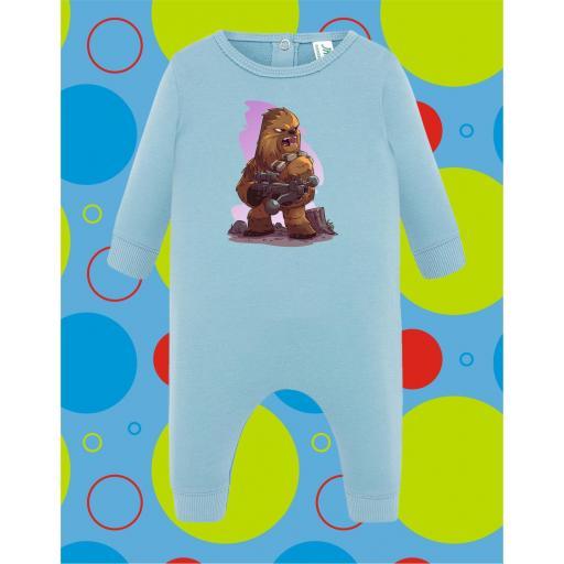Pelele de bebé Chewbacca [0]