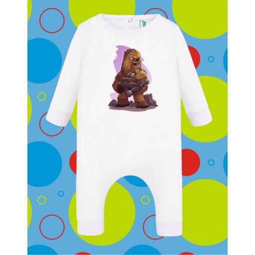 Pelele de bebé Chewbacca [2]