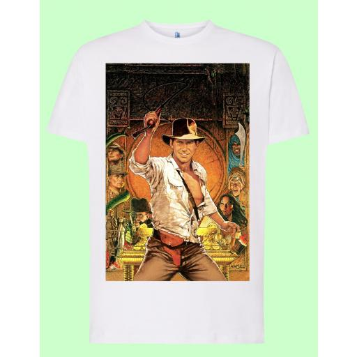 Camiseta blanca Indiana Jones