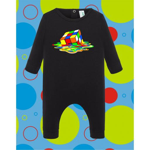 Pelele de bebé Cubo derretido [2]