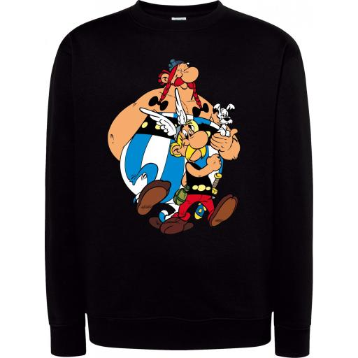 Sudadera Cuello Redondo Asterix