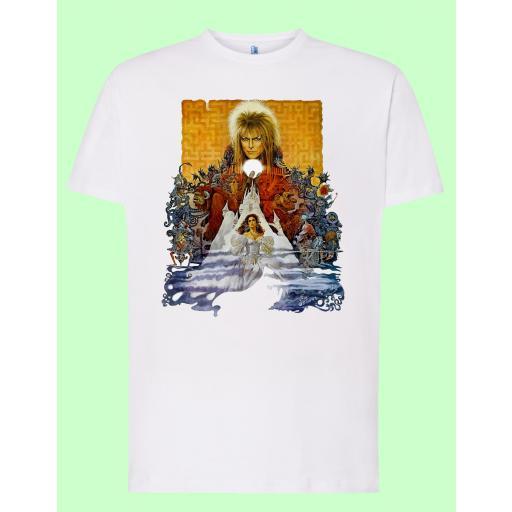 Camiseta blanca Labyrinth