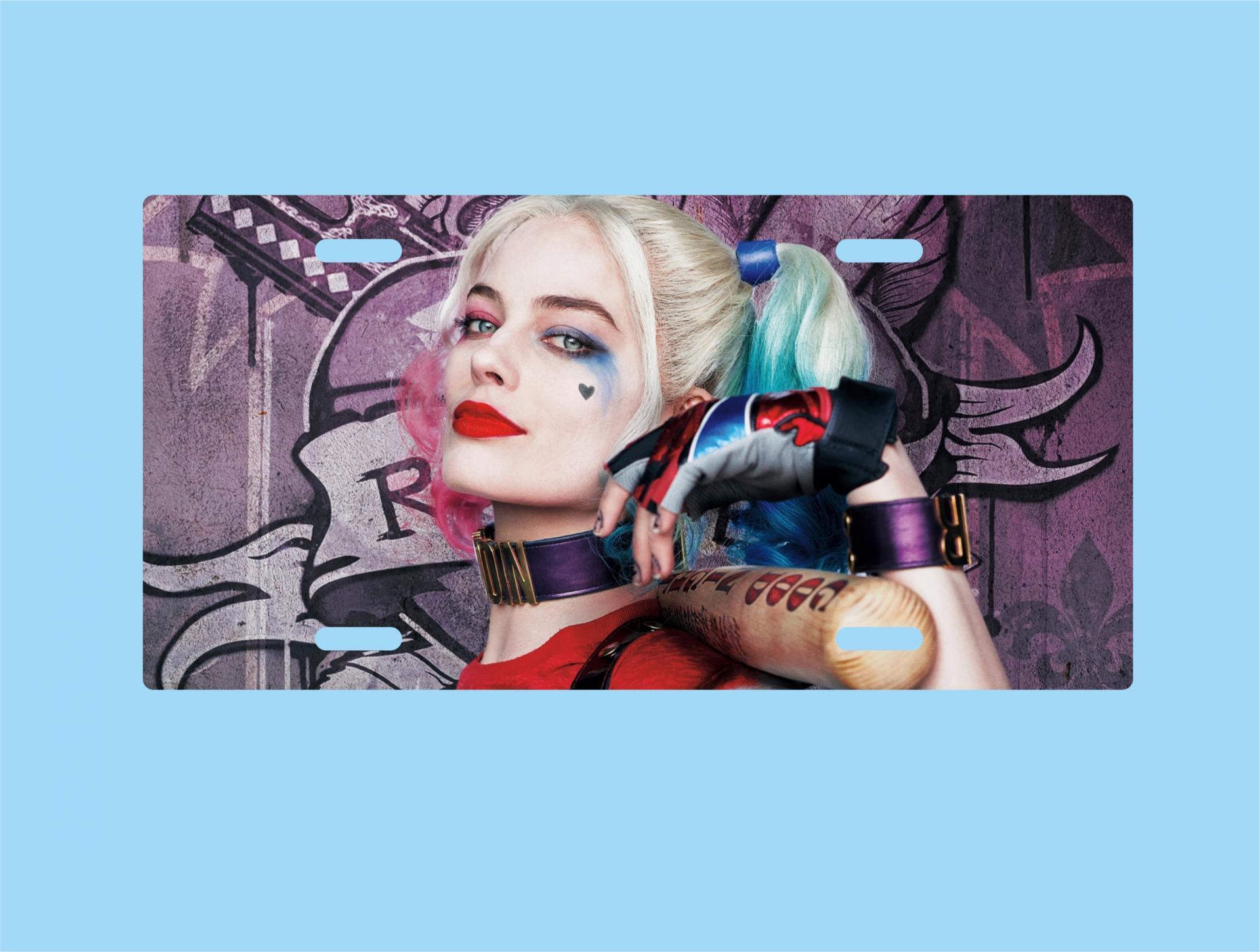 Placa de Metal Harley Quinn (PL021)