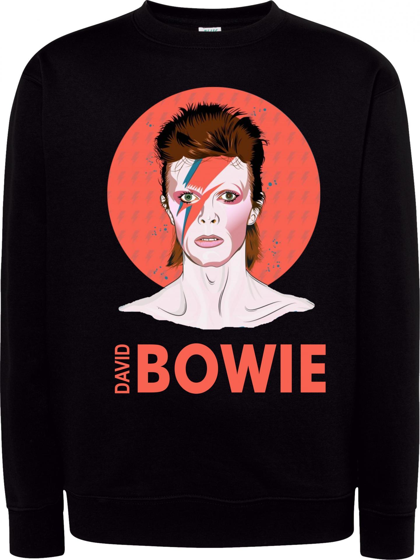 Sudadera Cuello Redondo David Bowie