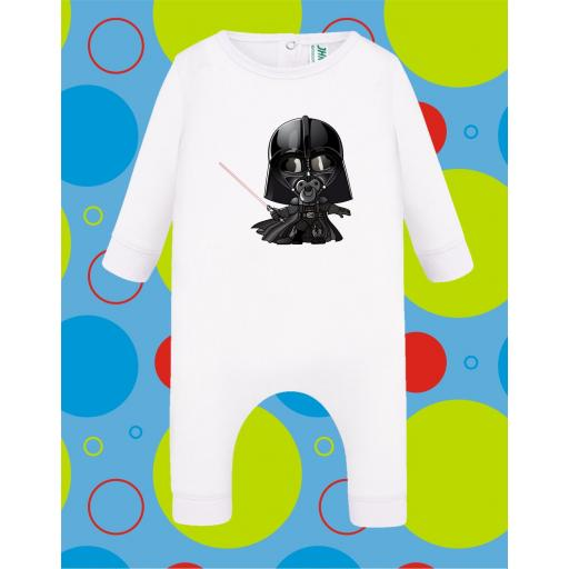 Pelele de bebé Dath Vader [2]