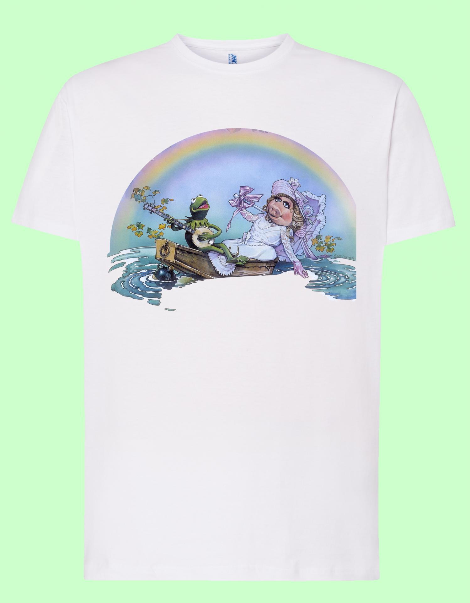 Camiseta blanca Gustavo y Peggy
