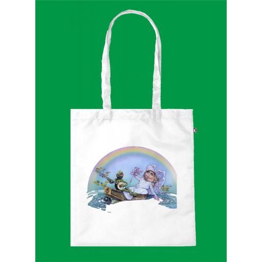 Bolsa de Asa Ecológica Peggy & Kermit