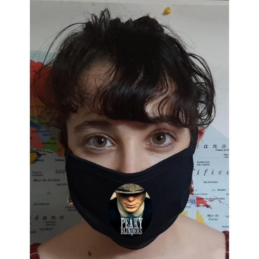 Mascarilla Protección Peaky Blinders