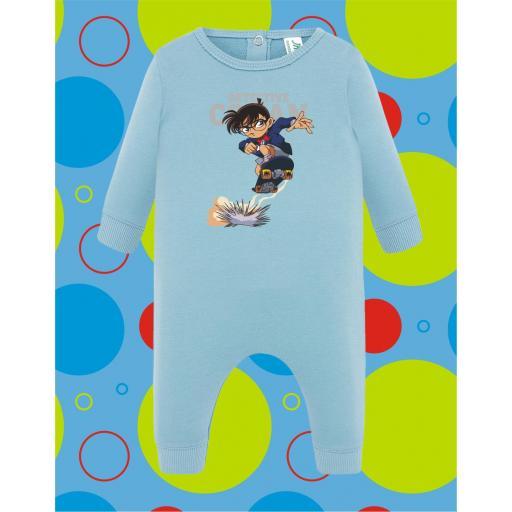 Pelele de bebé Detective Conan