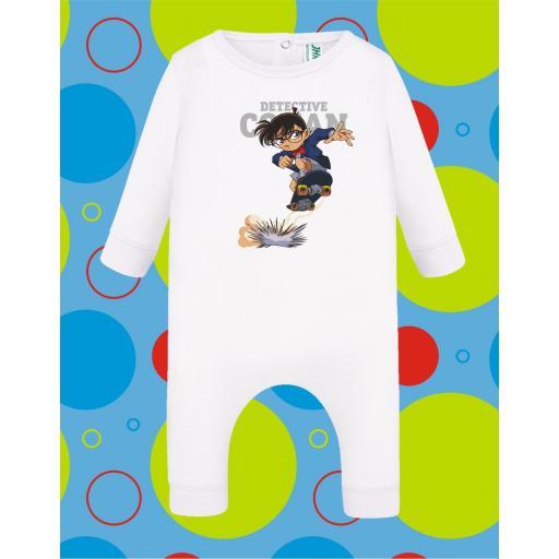 Pelele de bebé Detective Conan [2]