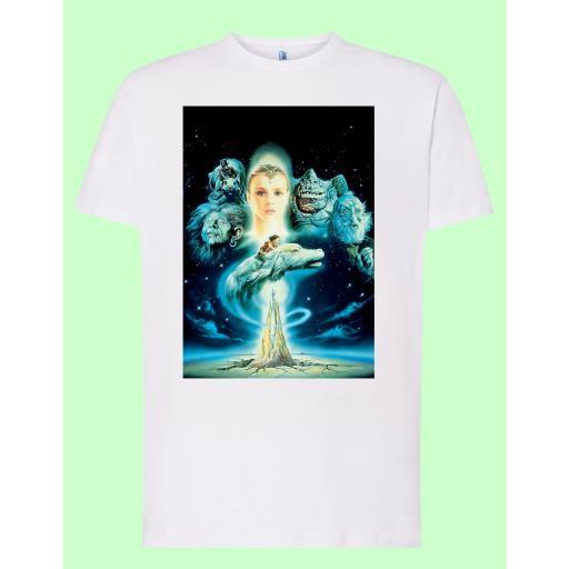 Camiseta blanca La Historia Interminable