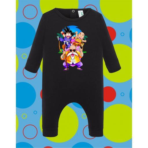 Pelele de bebé Dragon Ball Grupo [3]