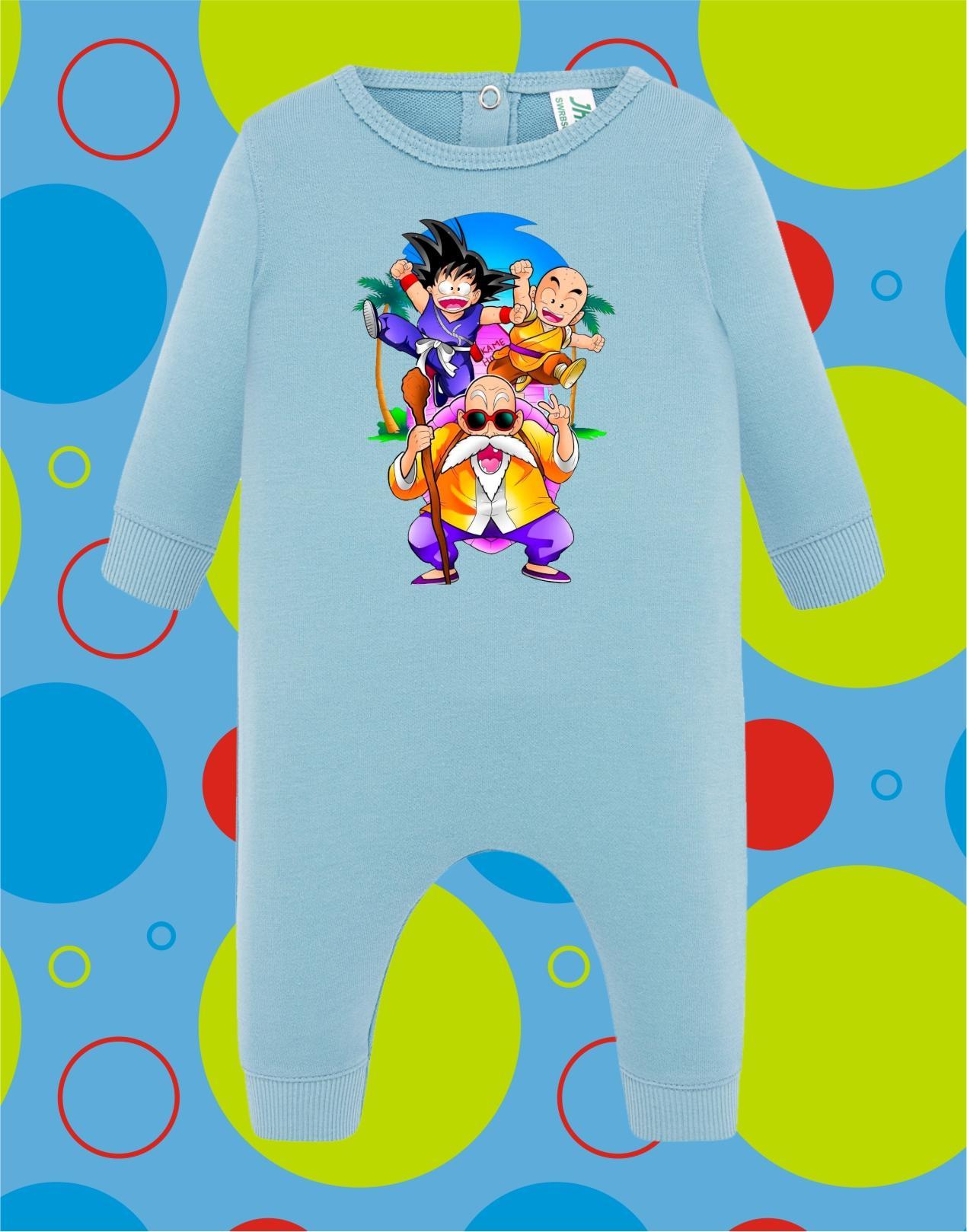 Pelele de bebé Dragon Ball Grupo