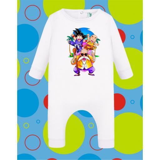 Pelele de bebé Dragon Ball Grupo [2]