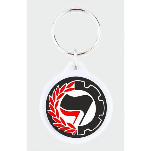 Llavero Accion Antifascista LLA023