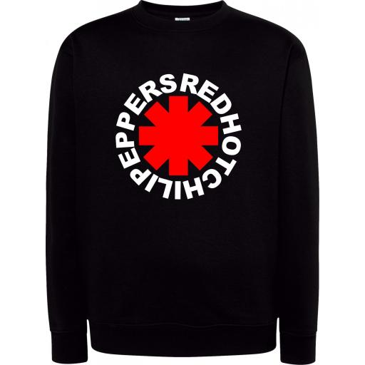 Sudadera Cuello Redondo Red Hot Chili Peppers