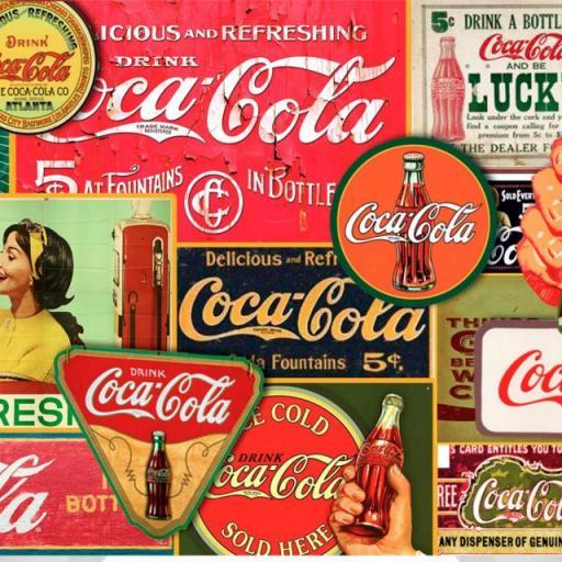 Taza Coca Cola Vintage (024)