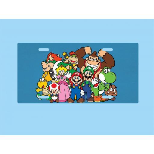 Placa de Metal Mario Bros. (PL019) [0]