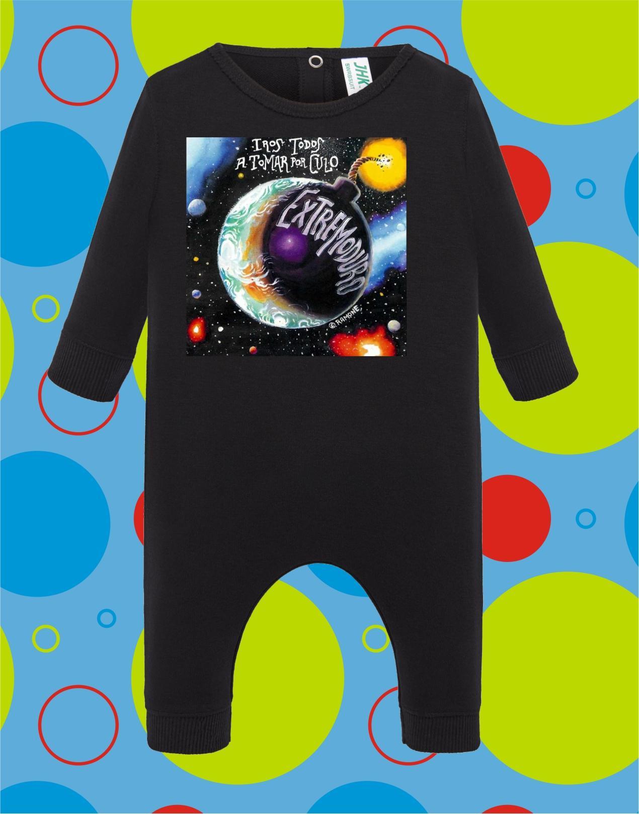 Pelele de bebé Extremoduro
