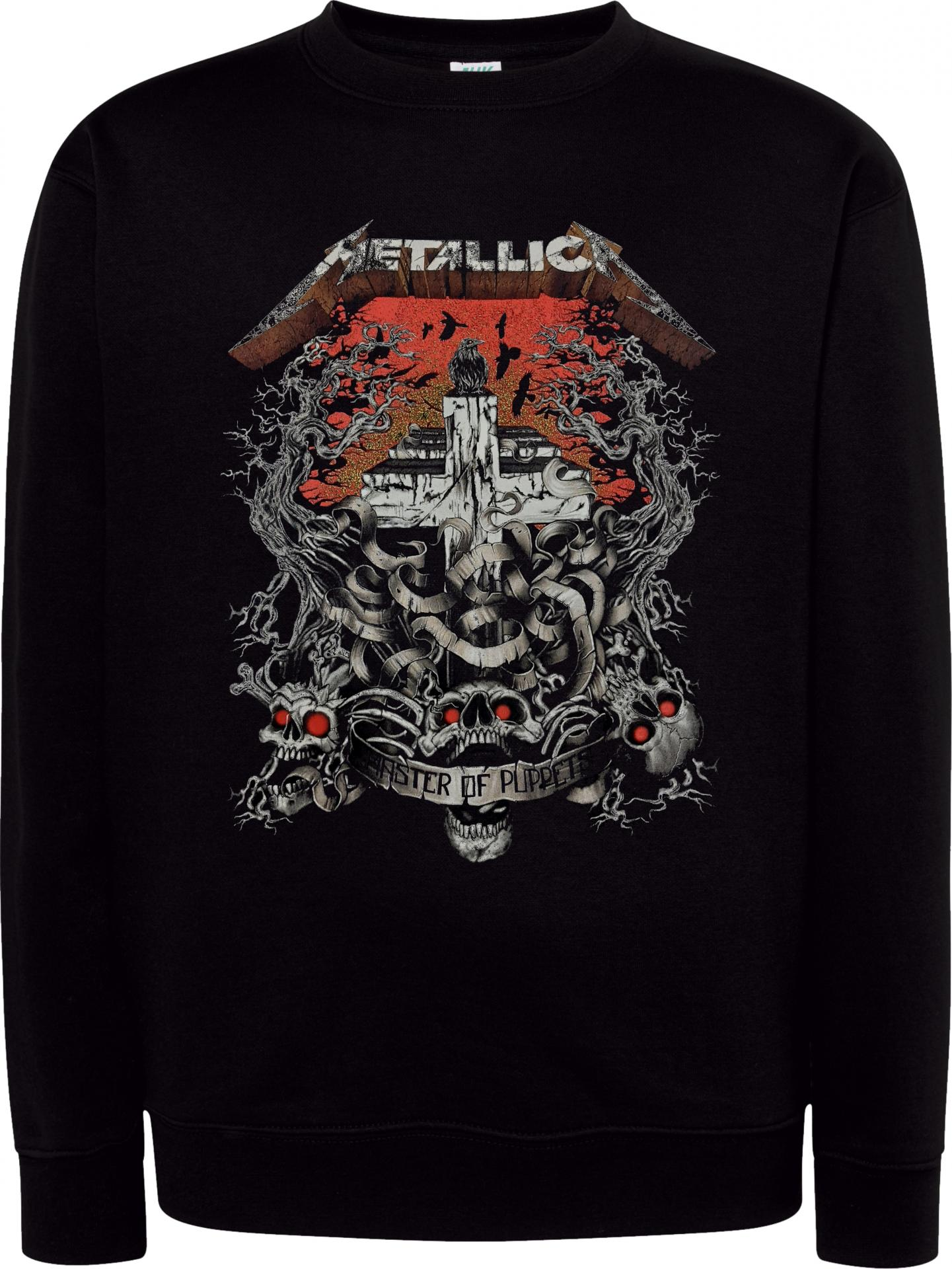 Sudadera Cuello Redondo Metallica