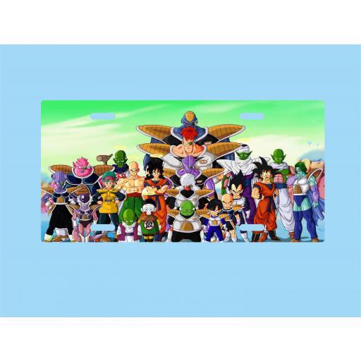 Placa de Metal Dragon Ball (PL026)