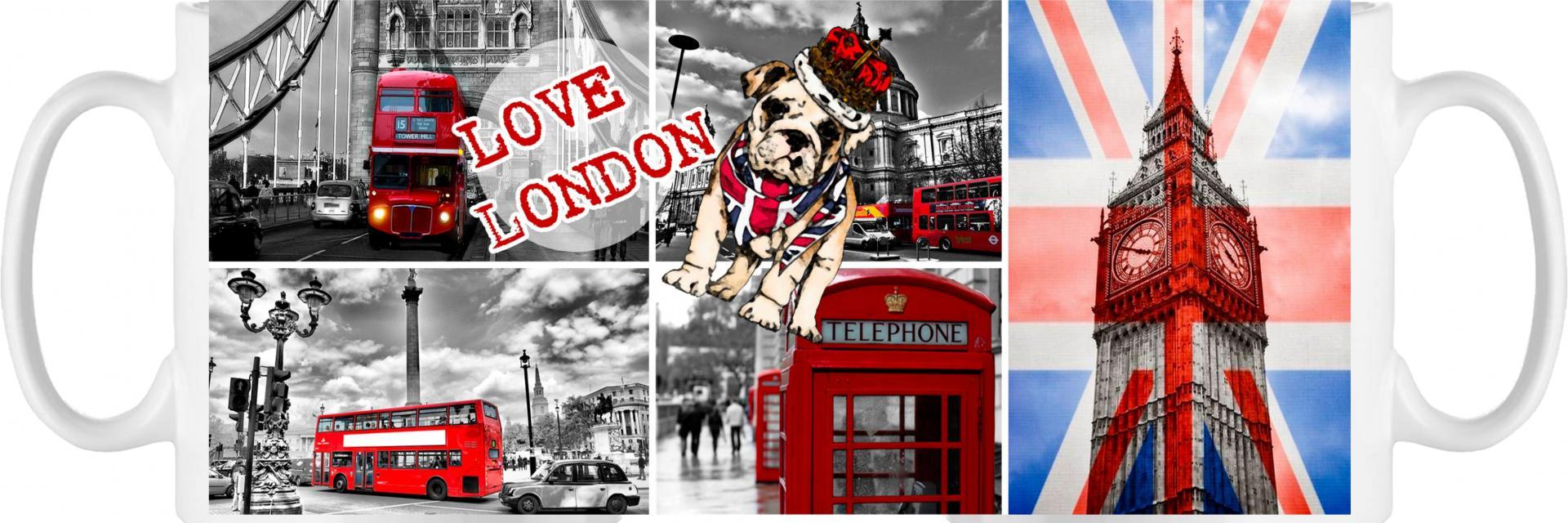 Taza Love London (026)