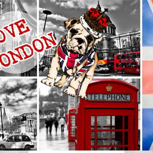 Taza Love London (026)