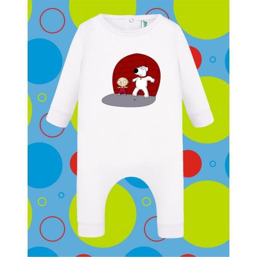 Pelele de bebé Steewie [2]