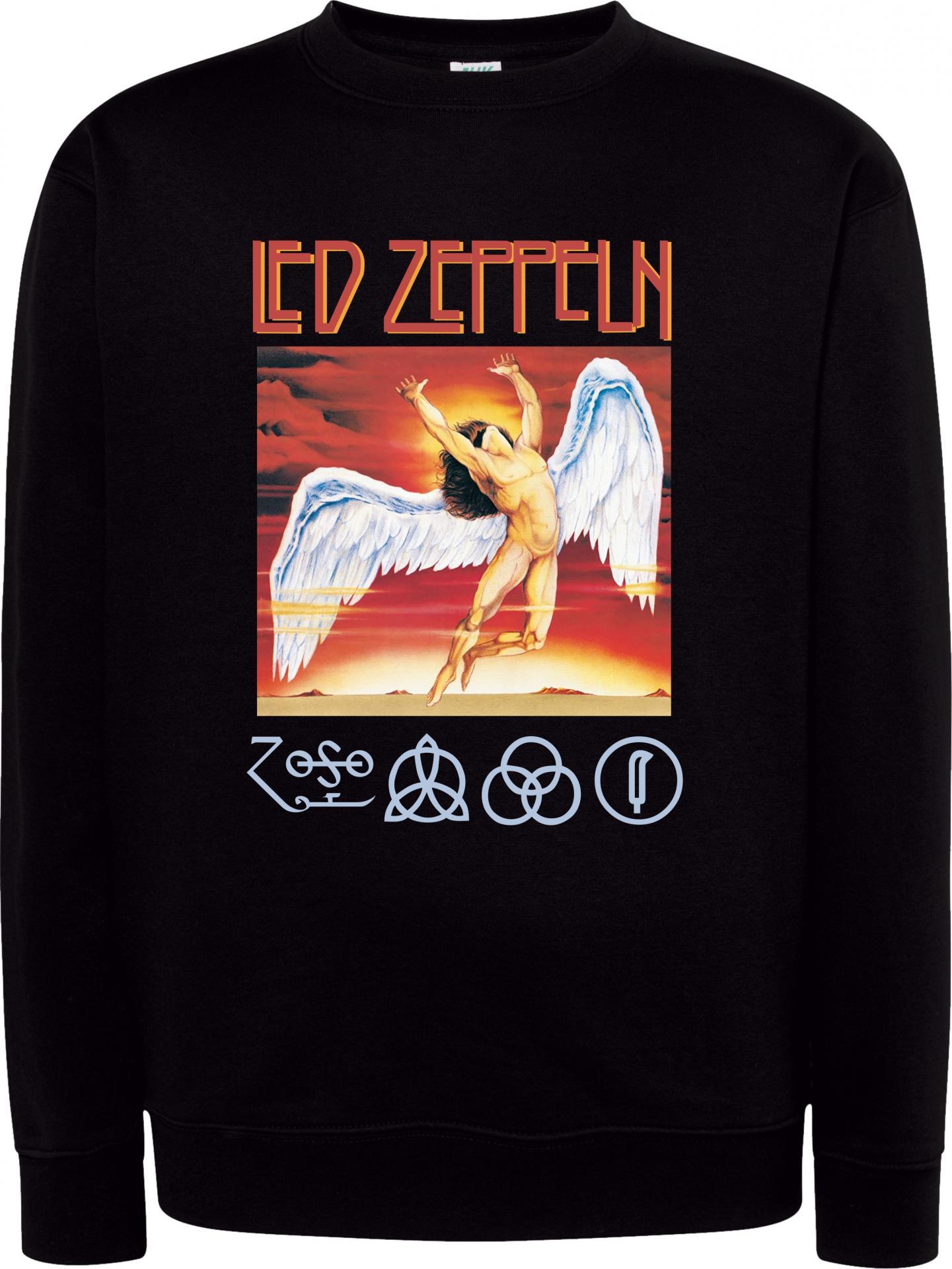 Sudadera Cuello Redondo Led Zeppelin