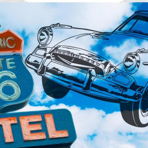 Taza Ruta 66 Motel (027)
