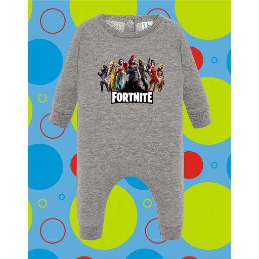 Pelele de bebé Fortnite