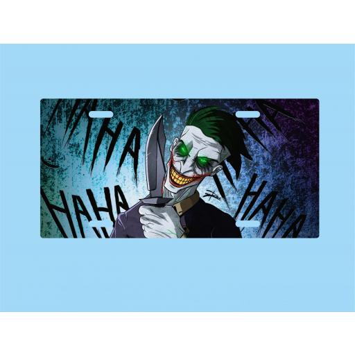 Placa de Metal Joker (PL028)
