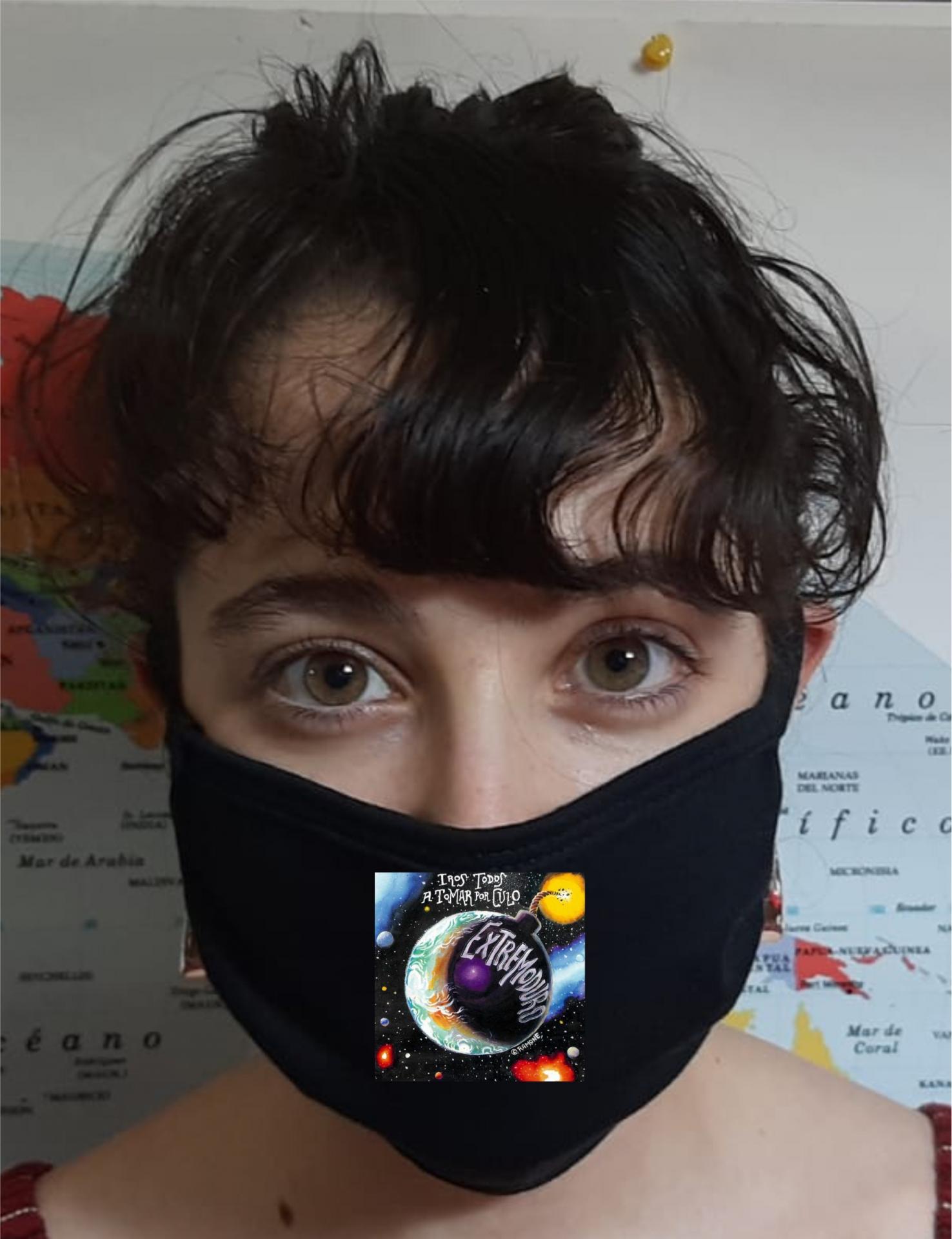 Mascarilla Protección Extremoduro Iros todos a tomar por culo