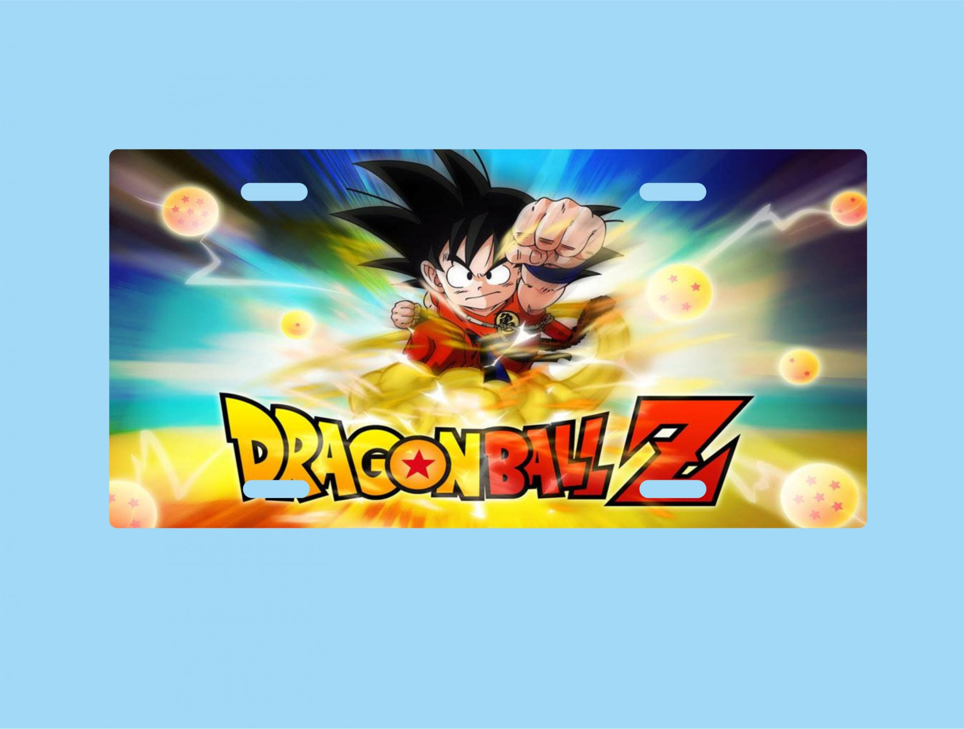 Placa de Metal Dragon Ball (P029)