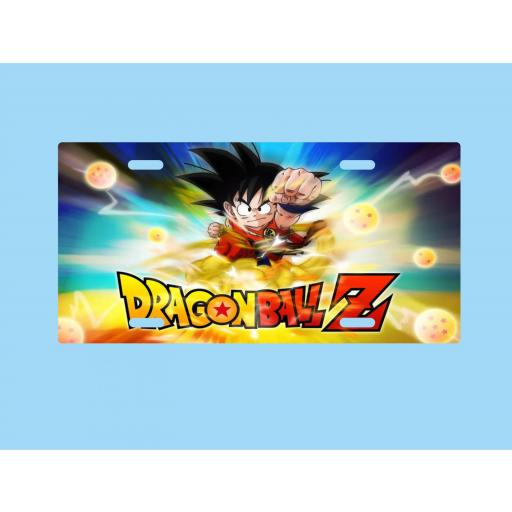 Placa de Metal Dragon Ball (P029) [0]