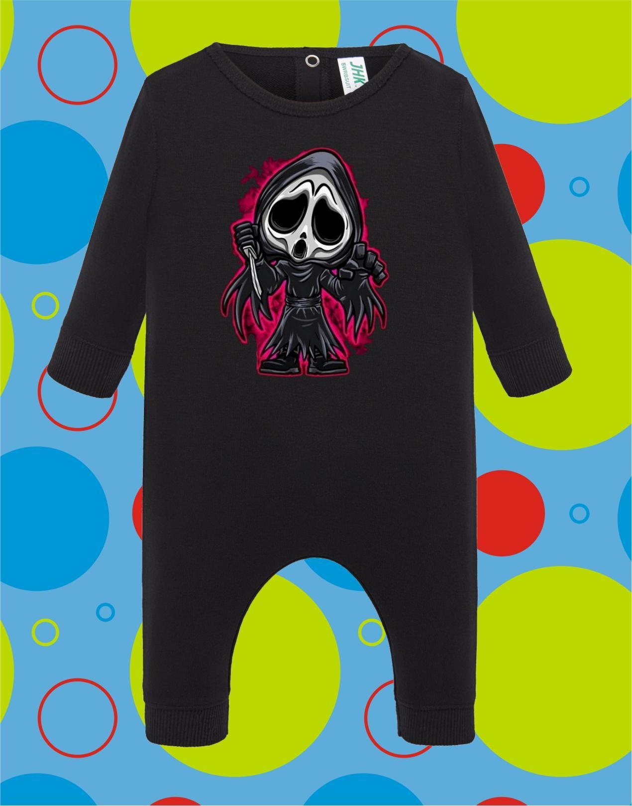 Pelele de bebé Ghost